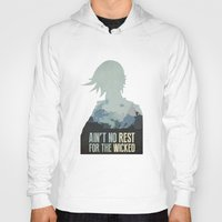 borderlands Hoodies featuring Borderlands 2 - Ain't No Rest for the Wicked by Art of Peach