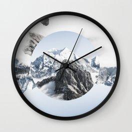 UPSIDE DOWN Wall Clock