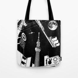 Night in Tokyo 2020 Tote Bag