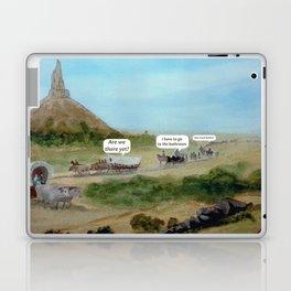 Travels with Kids Oregon Trail Theme Laptop & iPad Skin