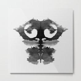 Form Ink Blot No.1 Metal Print