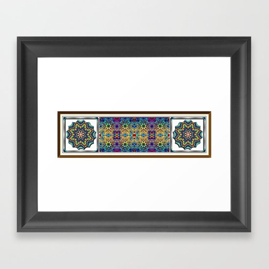 Deco Garden 3 Framed Art Print