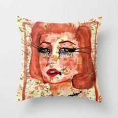 Marilyn Monre Throw Pillow
