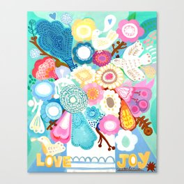 Love and Joy Canvas Print