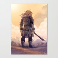 fili Canvas Prints featuring Fili by MaliceZ