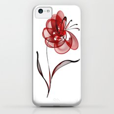 Vector Flower Slim Case iPhone 5c
