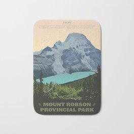 Mount Robson Provincial Park Bath Mat