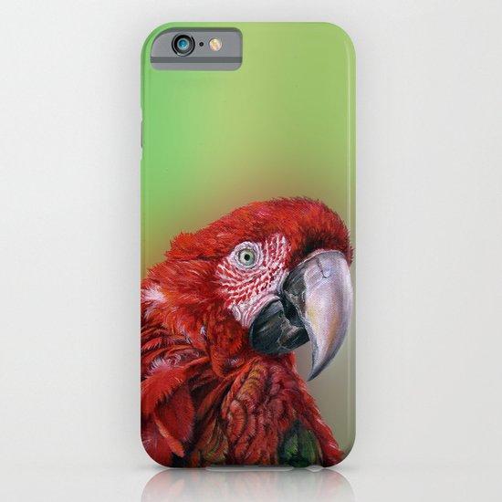 Ara  macao oil5013 iPhone & iPod Case