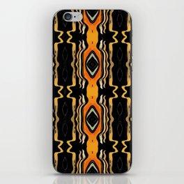 Bohemian Aztec Energy Glyphs iPhone Skin