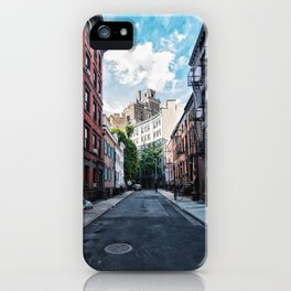 Gay Street, Greenwich Village iPhone Case