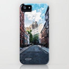 Gay Street, Greenwich Village iPhone Case