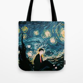 Taehyung Starry Night Tote Bag