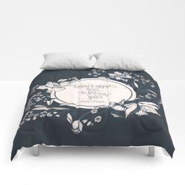 Dinna be afraid, there's the two of us now. Jamie Fraser Comforters