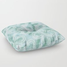 Knotty Abstract Floor Pillow