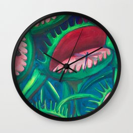 What's For Breakfast Wall Clock