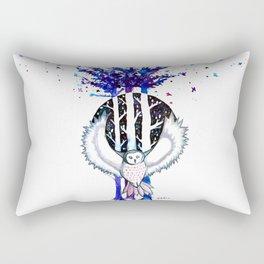 Owl  Rectangular Pillow