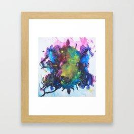 Watercolor Texture Framed Art Print