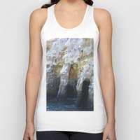 san diego Tank Tops featuring Cliffs of San Diego by Tdrisk46
