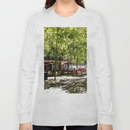 Street Cafes Long Sleeve T-shirt