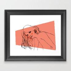 GrrL Framed Art Print