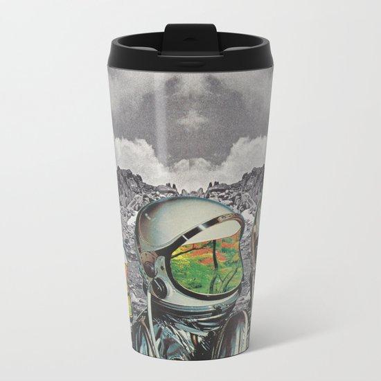 Les Distantes Metal Travel Mug