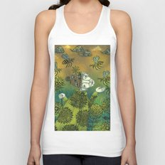 The Beekeeper Unisex Tank Top