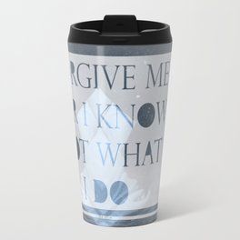 Luke 23:24 Travel Mug