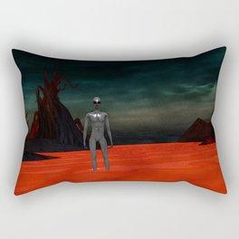 Alien World Rectangular Pillow