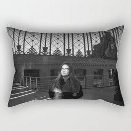 Wait in Madrid Rectangular Pillow