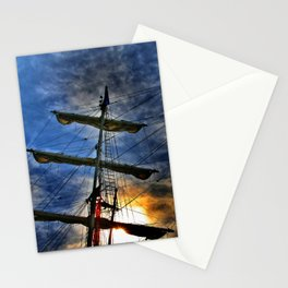 And I'm waiting for the wind Stationery Cards