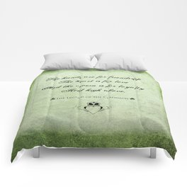 Claddagh ~ Love, Loyality, and Friendship Comforters