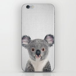 Baby Koala - Colorful iPhone Skin