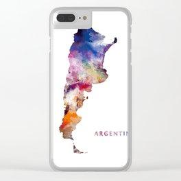 Argentina Clear iPhone Case