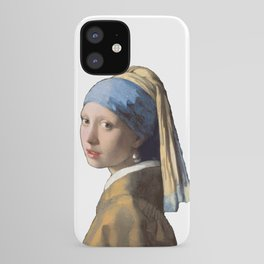 Johannes Vermeer Girl With A Pearl Earring 1665 T Shirt, Art iPhone Case
