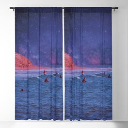 Surf Town Blackout Curtain