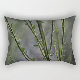 Young and Green Together Rectangular Pillow
