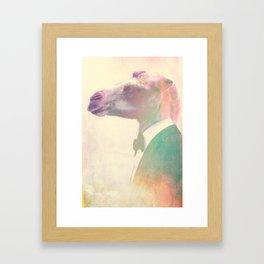 Special Agent Hump Framed Art Print