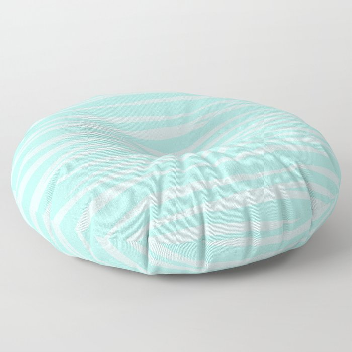 Zebra Print - Sugar Mint Floor Pillow