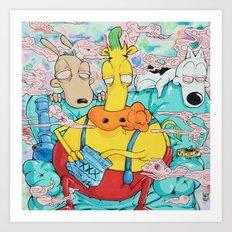Sesh2  Art Print