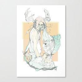 huni bee Canvas Print