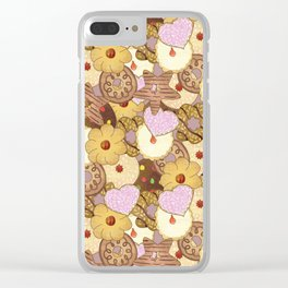 Cookies Clear iPhone Case