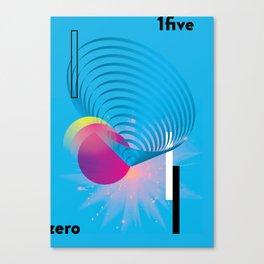 zero 1five Canvas Print