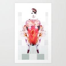 Muffy Art Print