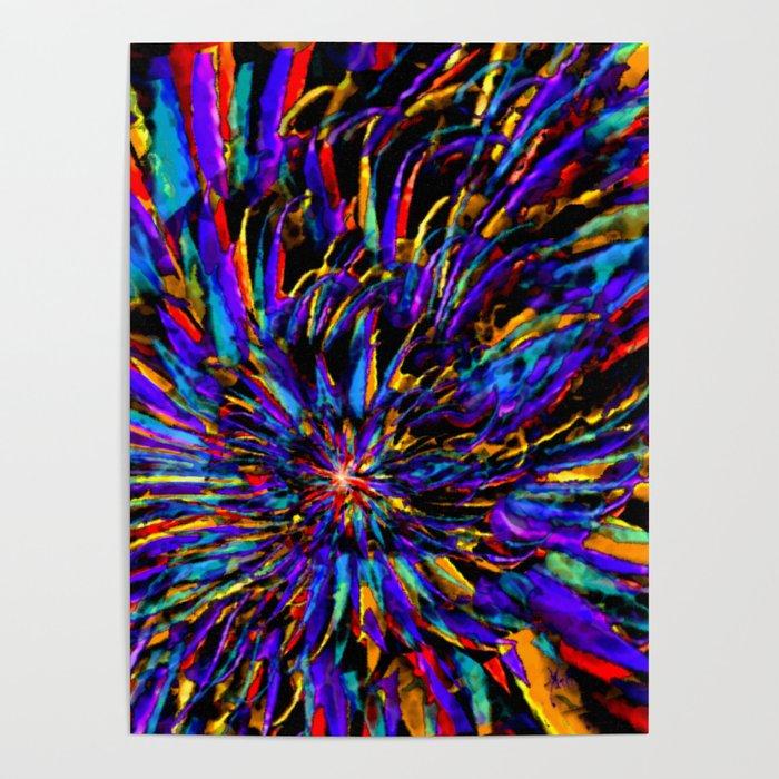 Mardi Gras - Celebration of Color Poster