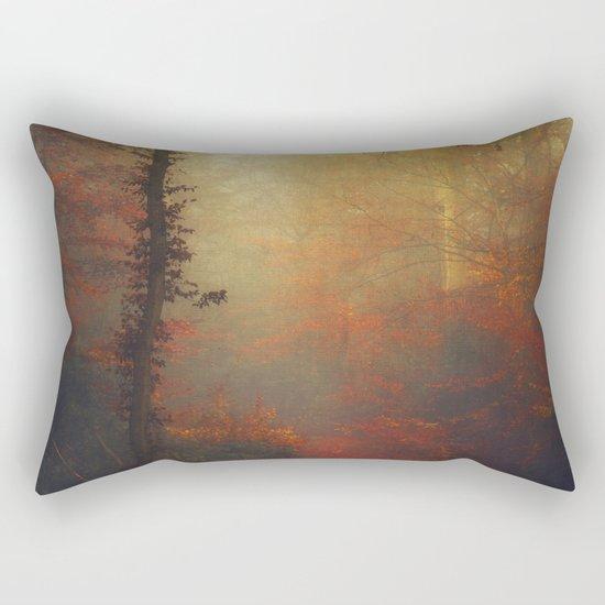 Carmine Path Rectangular Pillow