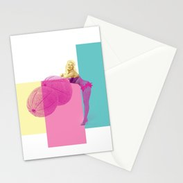 Jayne and the melons Stationery Cards