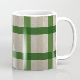 Evergreen Cozy Cabin Plaid Coffee Mug