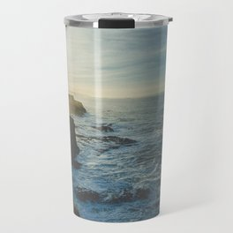 I Will Come Back But First... // Landscape // Edge of Cliff Photography #society6 #art #prints Travel Mug