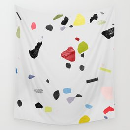 painted terrazzo 1 Wall Tapestry