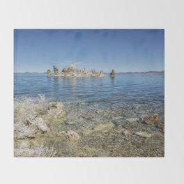 Mono Lake Tufa, No. 2 Throw Blanket